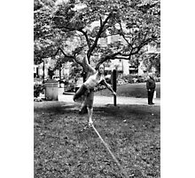 Tight Rope Walker 2 Photographic Print