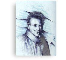 Mickey Rourke ( Pre-Plastic ) Canvas Print