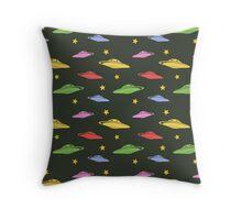 UFO pattern Throw Pillow