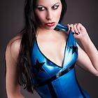 My blue dress by kontrastreich