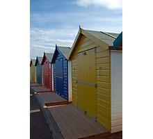 Beach Huts, Dawlish Warren Photographic Print