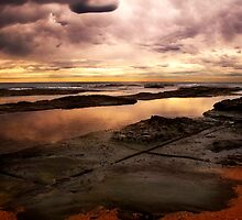 "Reflections at ""The Entrance"" rock pool by James Deypalan"