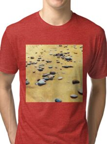 Pebbles on the Beach Tri-blend T-Shirt