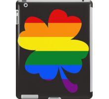 IRELAND GAY PRIDE 4 LEAF CLOVER FLAG iPad Case/Skin