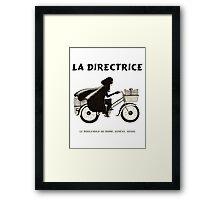 La Directrice Framed Print