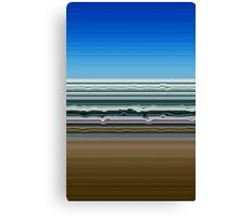 Sky Water Sand Canvas Print