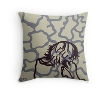 The End of Isolation Throw Pillow