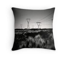 Desert Road series #3 Throw Pillow