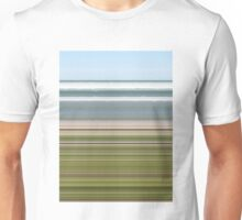 Sky Water Beach Grass Unisex T-Shirt