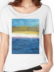 Abstract Dunes lll Women's Relaxed Fit T-Shirt