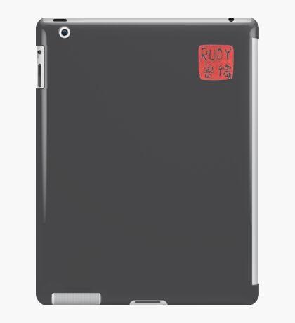RUDY STAMP iPad Case/Skin