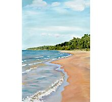 Peaceful Beach Photographic Print