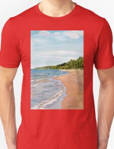 Peaceful Beach Unisex T-Shirt