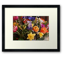 A Bouquet full of Spring Framed Print