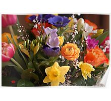 A Bouquet full of Spring Poster