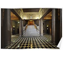 Freemasons Hall - Foyer. Adelaide. South Australia Poster
