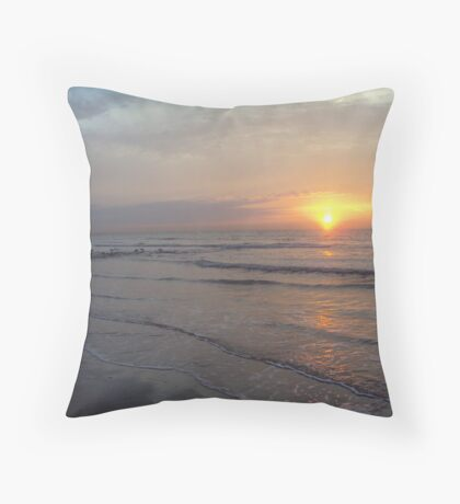 'The Sun sets on an Allusion' Throw Pillow