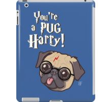 Harry Pug iPad Case/Skin
