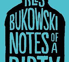 Charles Bukowski Notes by Vintagestuff