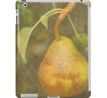 Pear in DAP Pastels with Texture iPad Case/Skin