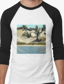 Lake Michigan Dune Men's Baseball ¾ T-Shirt