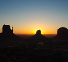 Monument Valley by airlabrador