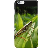 Grasshopper Green for the Love of Nature 2 iPhone Case/Skin