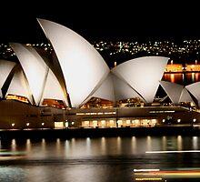 Sydney Opera House - Australia by Bryan Freeman