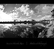Sunset on Werribee River by halloosin8