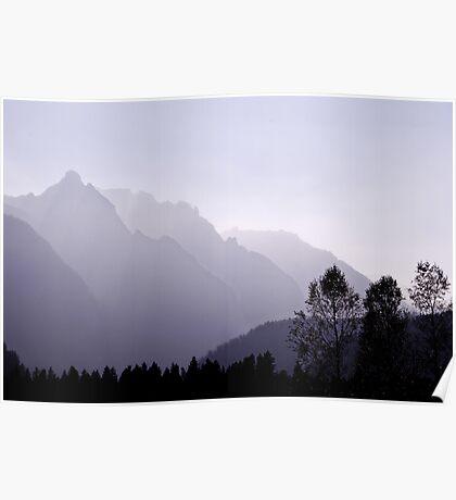 Silhouette, Austria Poster