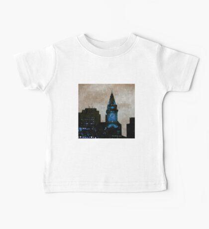 Custom House Tower Boston Baby Tee