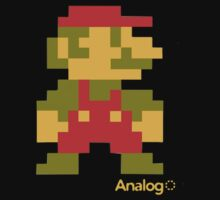Space Invader Mario by hellfinger