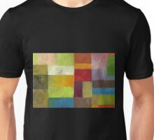 Abstract Color Panels lV Unisex T-Shirt