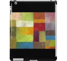 Abstract Color Panels lV iPad Case/Skin