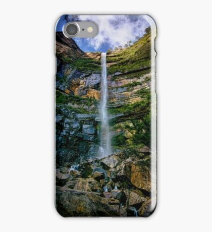 Bridal Vail Falls - Blue Mountains iPhone Case/Skin