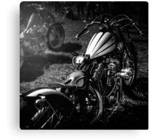 Classic Custom Motorcycles Canvas Print