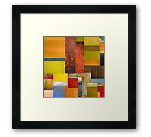Pieces Project l Framed Print