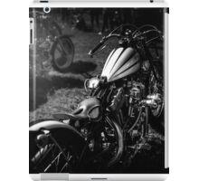 Classic Custom Motorcycles iPad Case/Skin