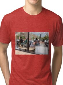 Reflections in a Tailor's Window Tri-blend T-Shirt
