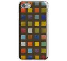 Collage Color Study lll iPhone Case/Skin