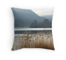 Reeds at Grasmere Throw Pillow