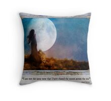 The Dream Traveler - May card Throw Pillow