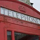 Big Red Phonebox by jcwdesigns