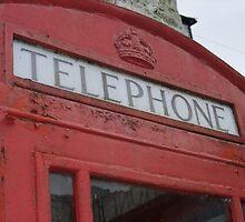 Big Red Phonebox by jcwdesigns