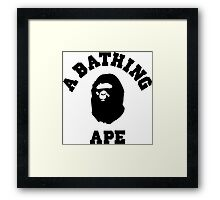 Bathing Ape Framed Print
