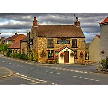 Milbank Arms - Well near Bedale Photographic Print