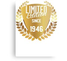 LIMITED EDITION SINCE 1946 Metal Print