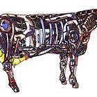 Mech Cow by jcwdesigns