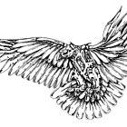 Eagle in Flight by jcwdesigns