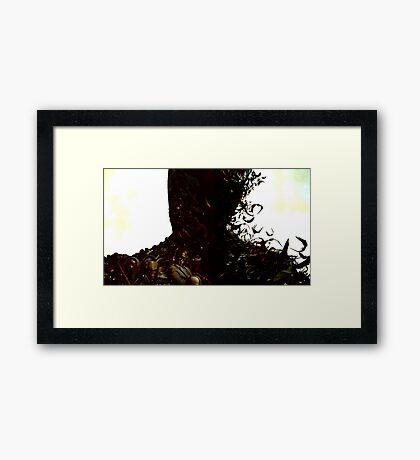 Batman-Joker Framed Print